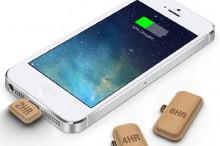 手机突然没电怎么破!来片一次性纸电池?