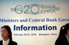 G20公报草案:准备好应对英脱欧带来的经济和金融冲击