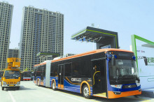 中国超级电容电车首度出口欧洲