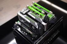 美国芯片制造商英伟达股价创新高
