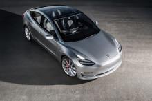特斯拉 Model 3 开始试量产